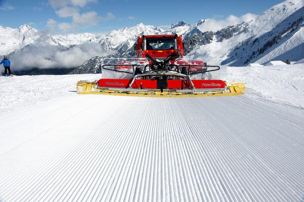 Skigebiet Speikboden©: Bestens präparierte Pisten gehören zu den Markenzeichen unserer zwei Skigebiete Speikboden und Klausberg