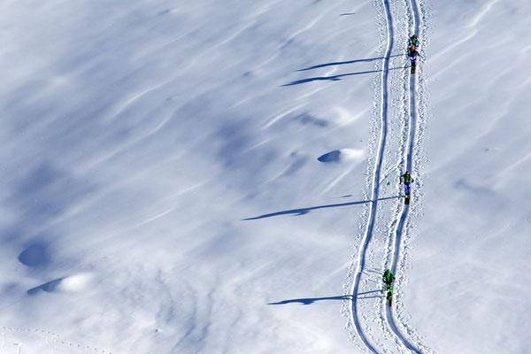 Weißenbach im Ahrntal ist ein Eldorado für Skibergsteiger - die Kombination von perfekten Verhältnissen in der freien Natur und einer komfortablen Ferienwohnung im Ahrntal gibts bei Appartements Großgasteiger