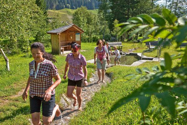 Die Kneippanlage in Weißenbach im Ahrntal - ein besonderes Stück Südtirol