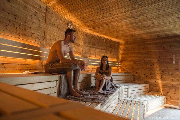 Sauna Tanne in der Cascade Sand in Taufers (c) in der Ferienregion Kronplatz