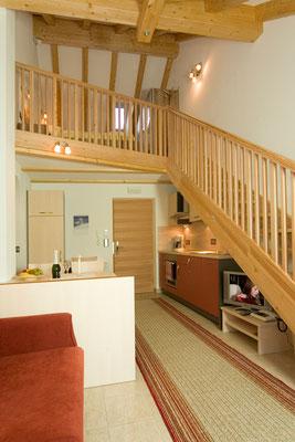 Ferienwohnung Alpenrose im Haus Appartements Großgasteiger in der Alpinwellt Weißenbach im Ahrntal / Pustertal / Südtirol