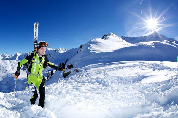 Weißenbach im Ahrntal ist ein Eldorado für Skibergsteiger - beim Skialprace Ahrntal messen sich jährlich die Besten der Besten
