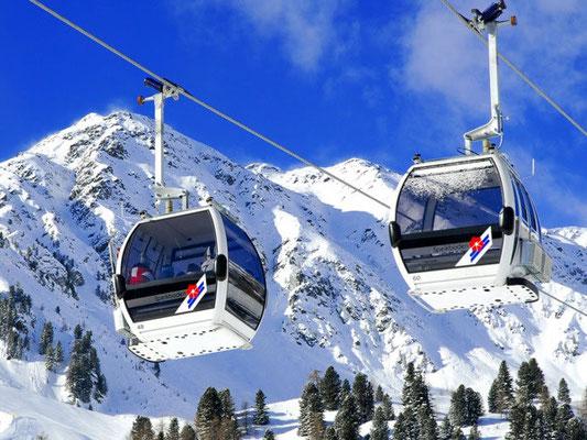 Gondelbahn Speikboden - das feine Skigebiet im Tauferer Ahrntal für den besonderen Skispass mit perfekten Pistenbedingungen