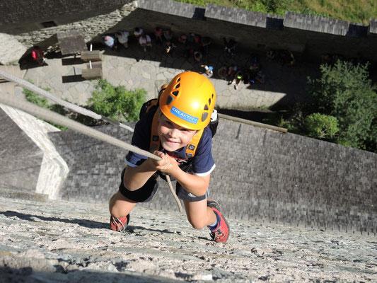 BikeBurgSeil, ein Hit für Kids im Ahrntal - bei Appartements Großgasteiger in den komfortablen Ferienwohnungen im Ahrntal in Südtirol ist das Aktivprogramm inklusive
