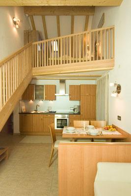 Ferienwohnung Edelweiß im Haus Appartements Großgasteiger in der Alpinwellt Weißenbach im Ahrntal / Pustertal / Südtirol