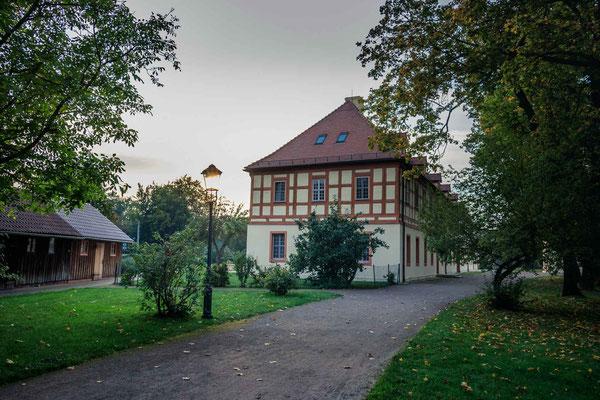Marstall vom Lübbenauer Schlossensemble