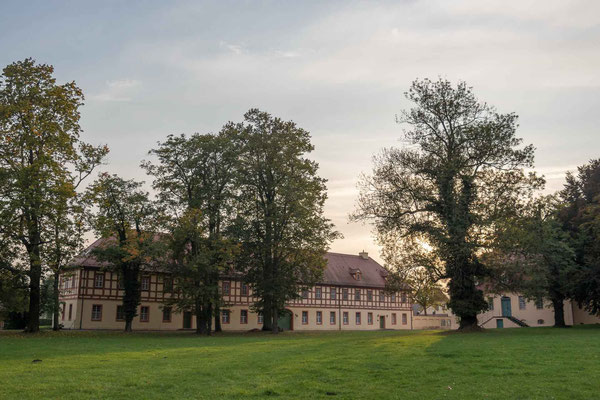 Marstall im Lübbenauer Schlossensemble