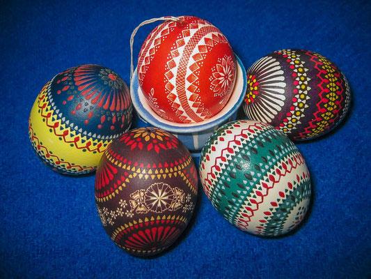 sorbische Ostereier aus der Lausitz