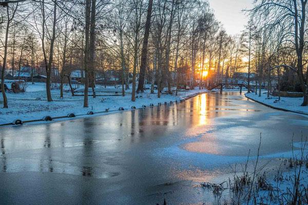 Winter im Biosphärenreservat Spreewald