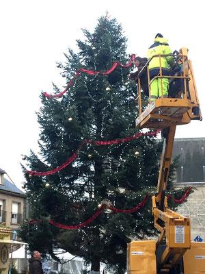 Oh, il est beau le sapin de Noël !!!