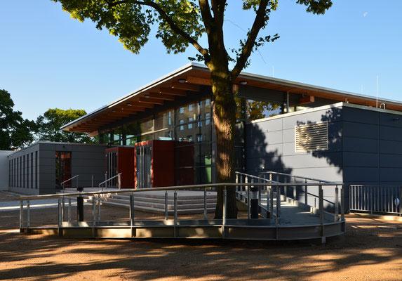 Neubau Mensa der Giordano Bruno Gesamtschule - Helmstedt