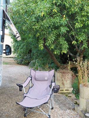 So idyllisch steht man in Verneville