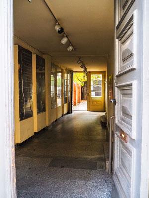 Eingang in der Chausseestraße
