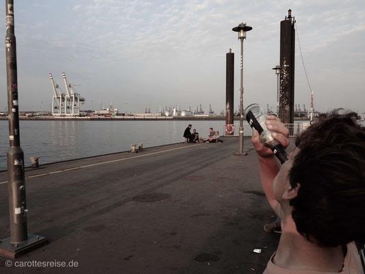 Morgenstimmung am Hafen