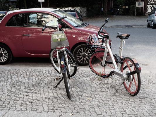 Bikesharing-Kollegen
