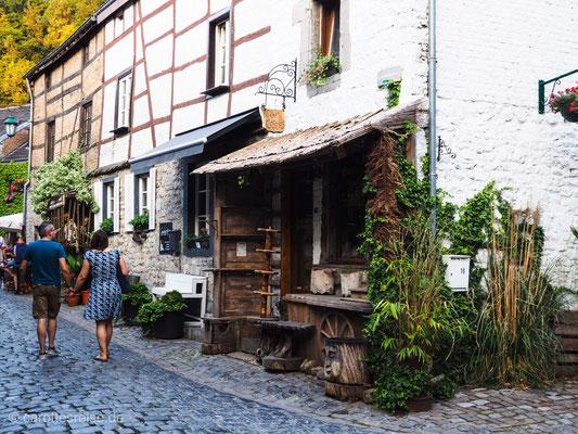 Mittelalterliches Stadtbild in Durbuy