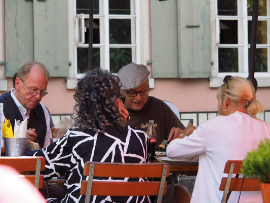 Mittagessen in Aarburg