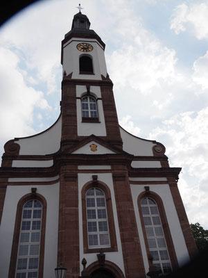 Kirche Meißenheim aus der Nähe