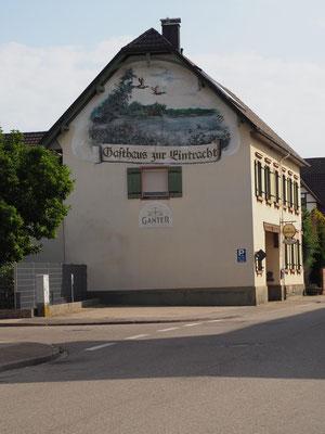 Giebelansicht Gasthaus zur Eintracht in Meißenheim