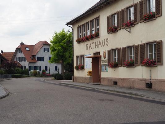 Altes Rathaus in Meißenheim – noch garn der Tradition verhaftet