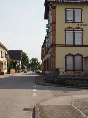 Aus der Zeit gefallen: Gasthaus Krone in Meißenheim
