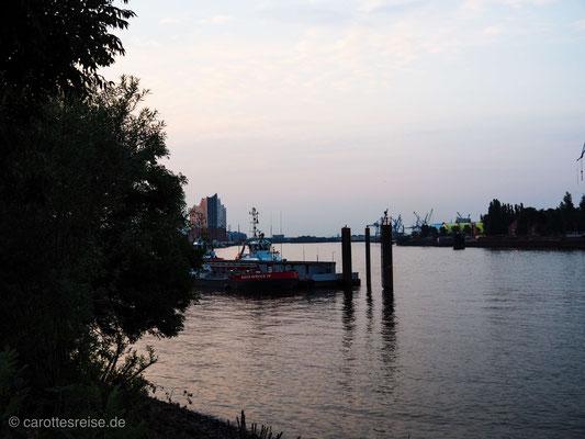 Morgenstimmung in Hamburg