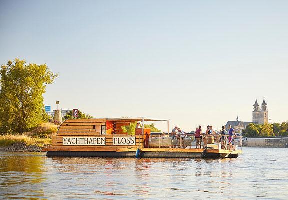 Yachthafen Floss Elbe