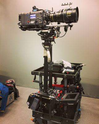 Steadicam with Arri Alexa and Alura Zoom on the set of Death is so permanent