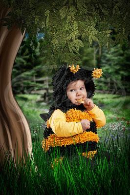 Bienchen, Kleinkind, Baby, Kostüm, Biene