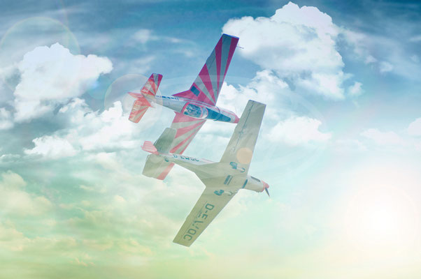 Kunstflug, Flugzeuge, Kunstflieger, Flugshow, Airshow
