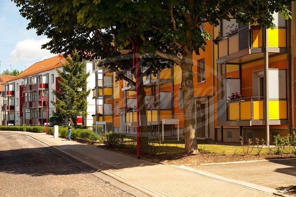 Gotha, Häuser, Straße