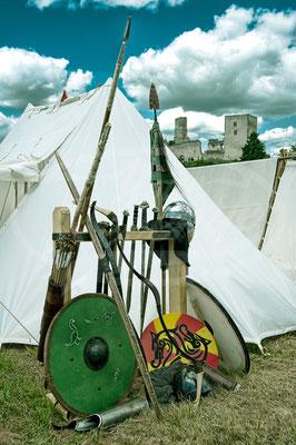 Ritterzeug, Schild, Lanze Schwert, Ritterfest