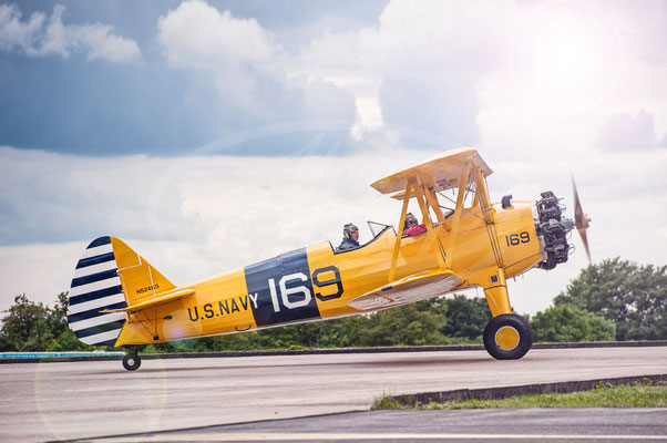 Flugzeug, Oldtimer, Boeing Stearman