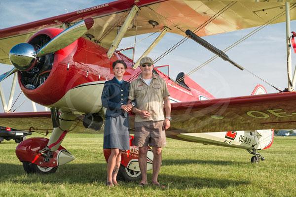 Peggy's Wingwalkers, Wing Walking, Boeing Stearman