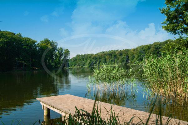 Ein Tag am See, Sommer, Steg, Sonnenschein