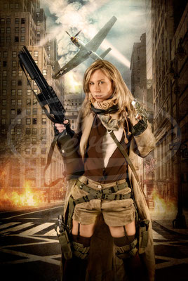 Resident Evil in der Stadt