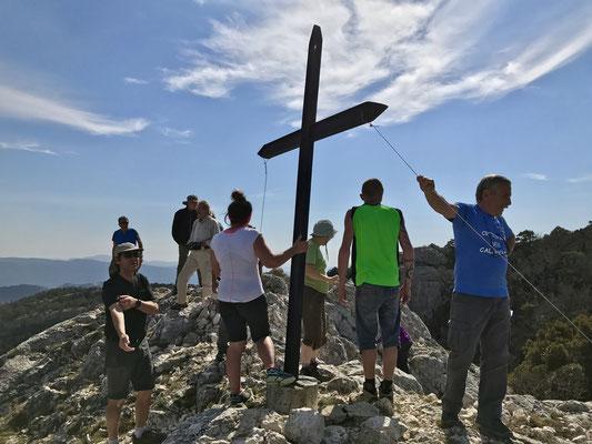 La croix de Saint-Cassein pour les plus courageux