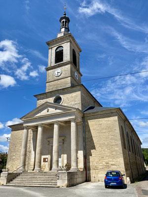L'église d'Orges