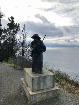 Les derniers kilomètres pour aller au phare de Cabre.