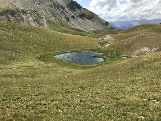 Magnifique lac en cœur
