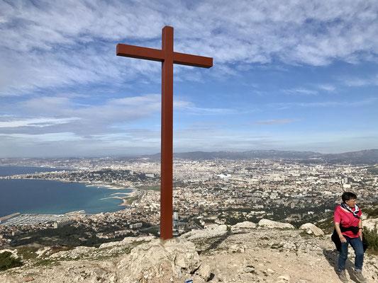 La croix de Marseilleveyre