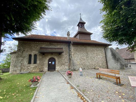 L'église de Montcherrand (Suisse)
