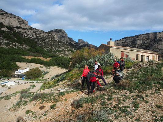 La calanque de Marseilleveyre