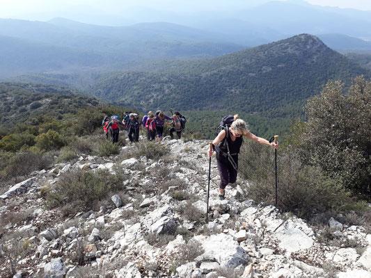 La montée au Mont Olympe
