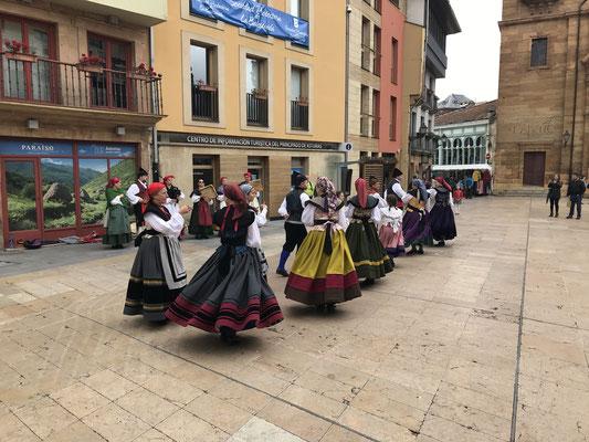 C'est la fête à Oviedo.