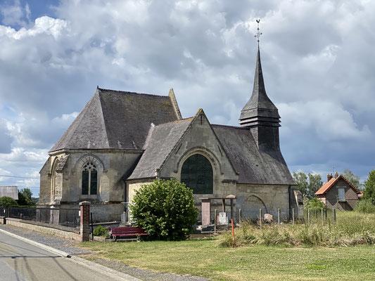 L'église d'Andelin