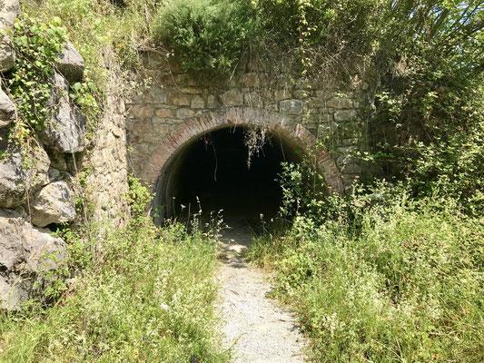 Anciennes mines à Castro Urdiales.
