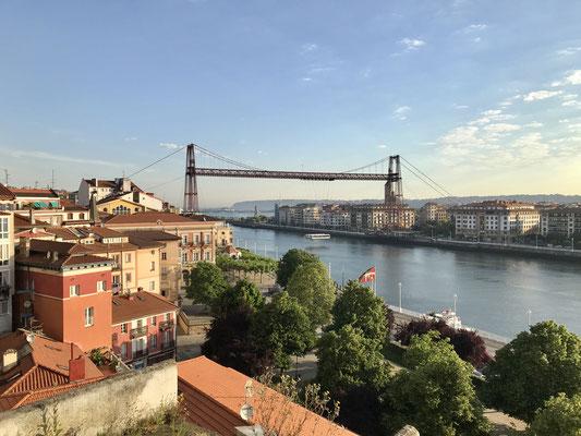 Pont transbordeur à Portugalete.