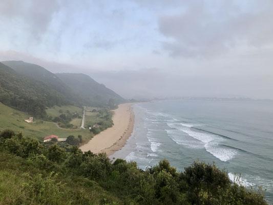La plage d'Argoños.