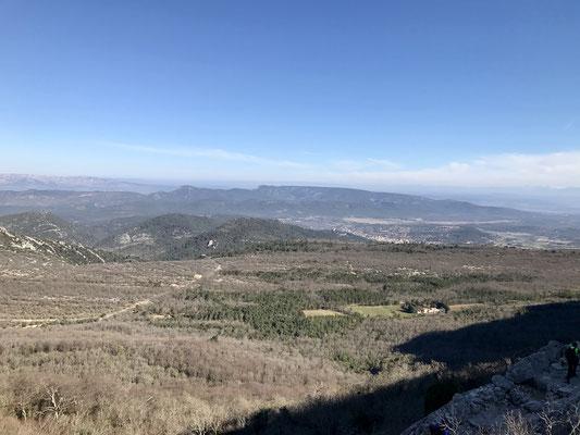 Belle vue sur les autres massifs